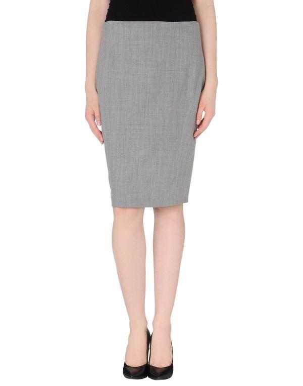 灰色 PINKO BLACK 及膝半裙