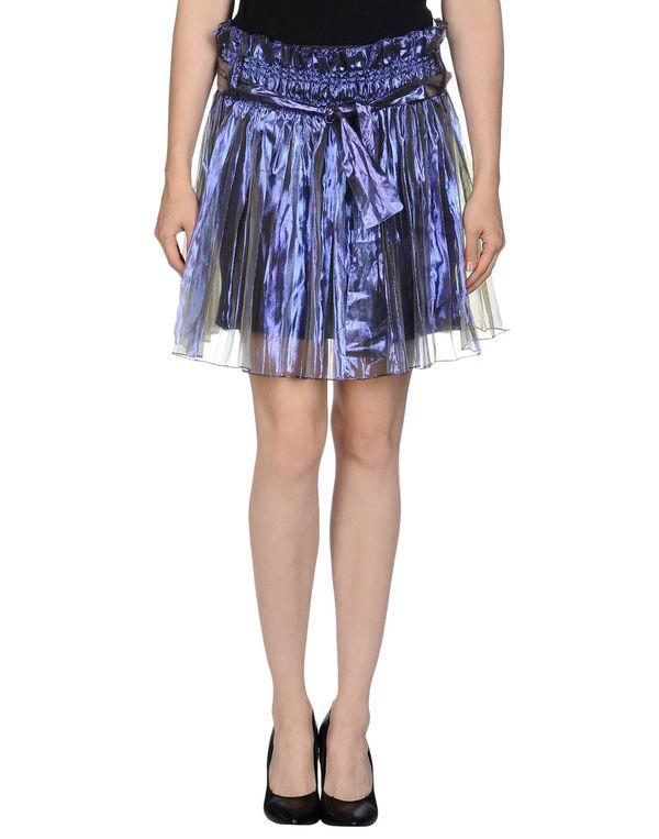 紫色 PATRIZIA PEPE 超短裙