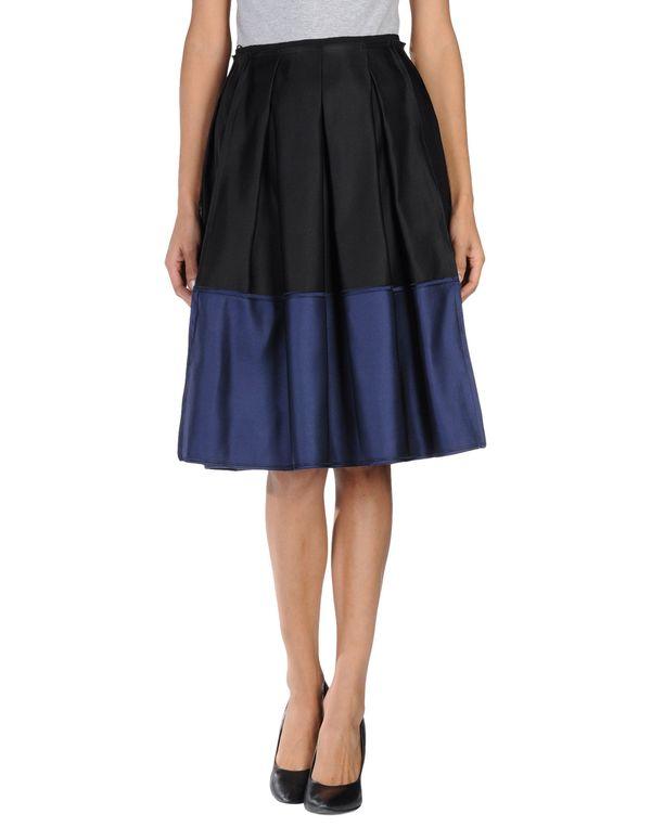 黑色 GIAMBATTISTA VALLI 半长裙