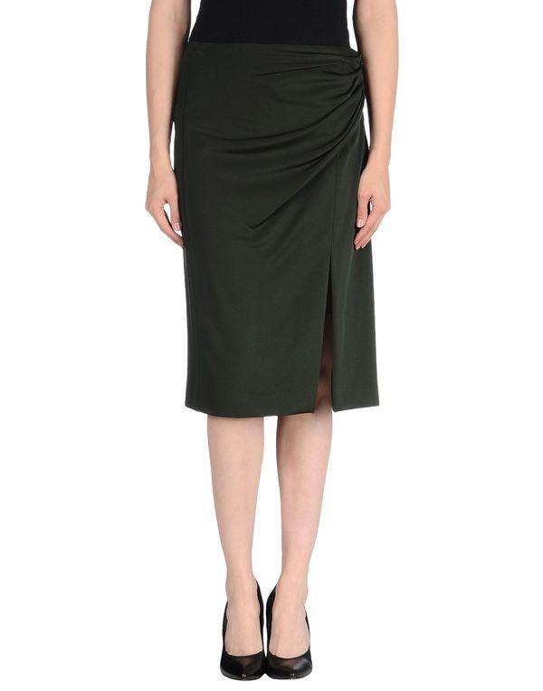 深绿色 MOSCHINO 半长裙