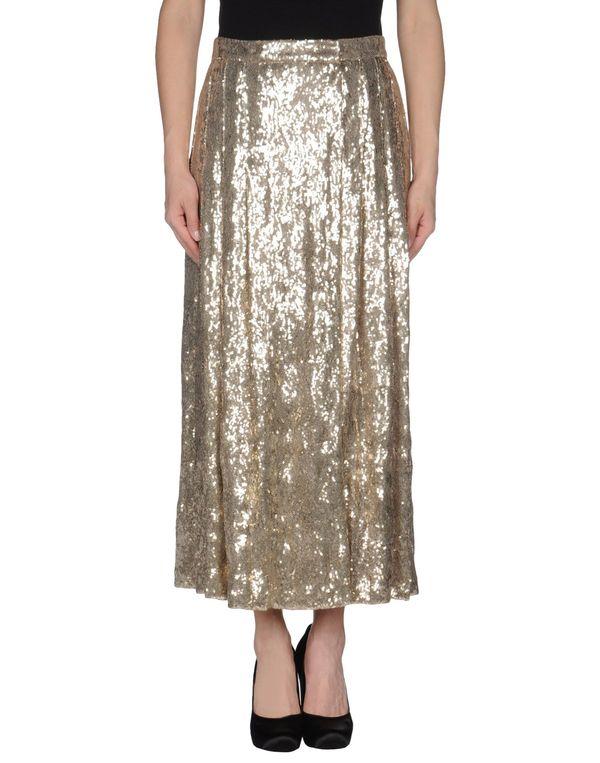 铂金色 BLUGIRL BLUMARINE 长裙