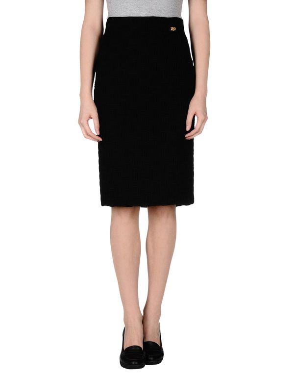 黑色 CLASS ROBERTO CAVALLI 半长裙