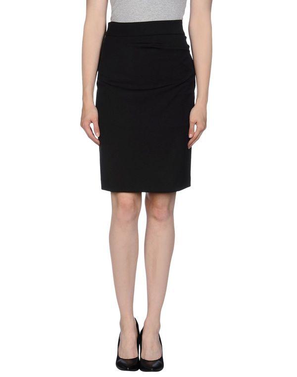 黑色 ANNARITA N. 及膝半裙