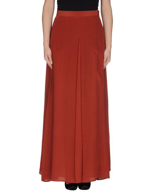砖红 MAURO GRIFONI 长裙