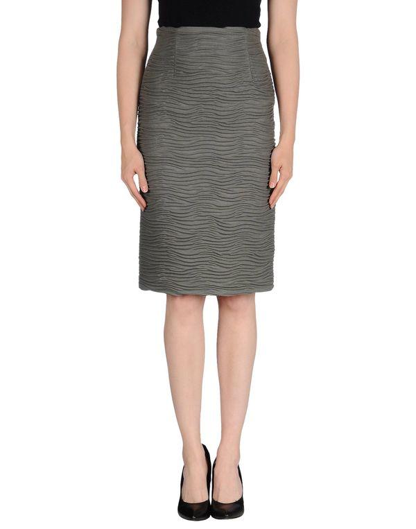 灰色 TONELLO 及膝半裙