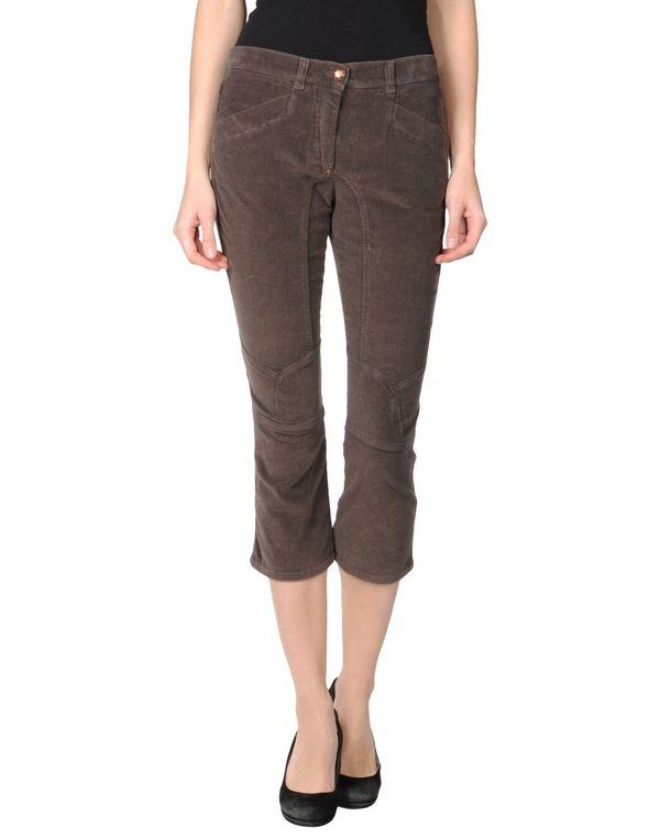 深棕色 PINKO BLACK 七分裤