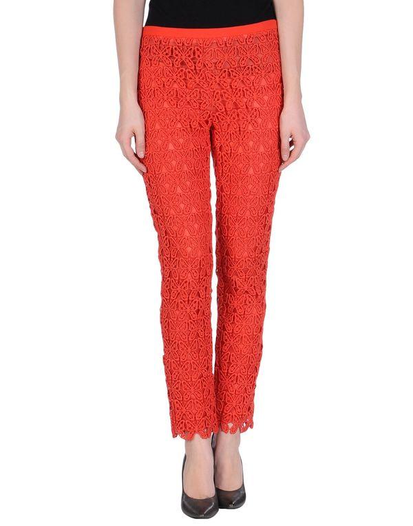 珊瑚红 MOSCHINO CHEAPANDCHIC 裤装
