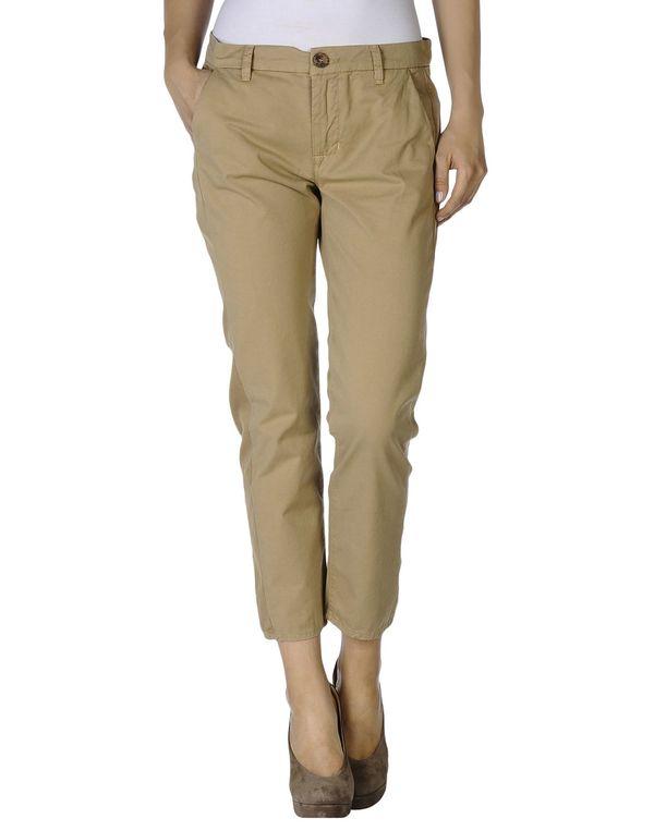 沙色 J BRAND 七分裤