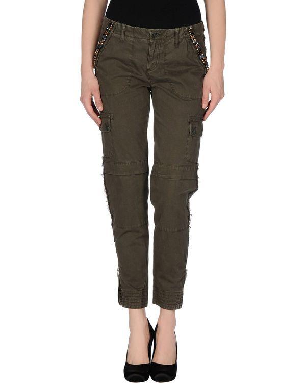 军绿色 LIU •JO JEANS 裤装