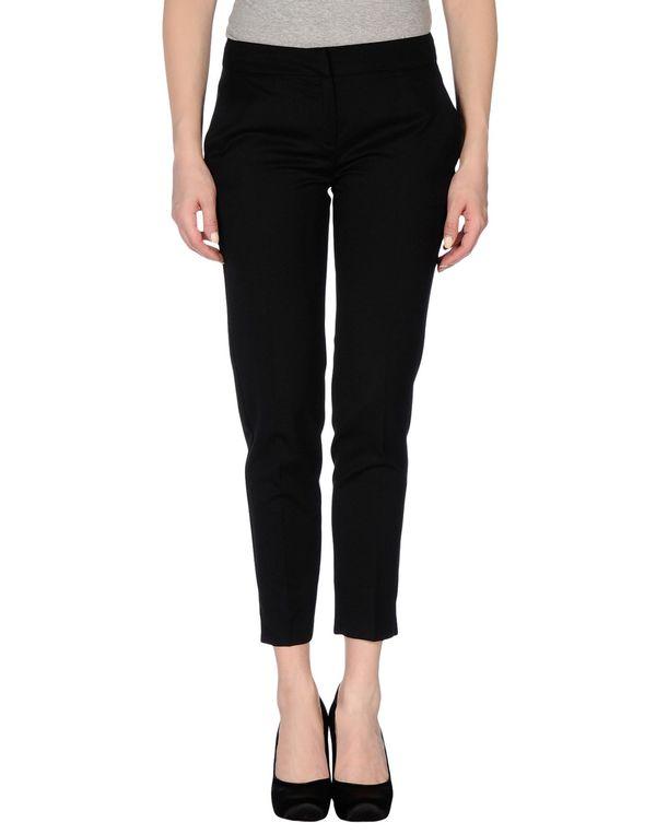 黑色 PIERRE BALMAIN 裤装