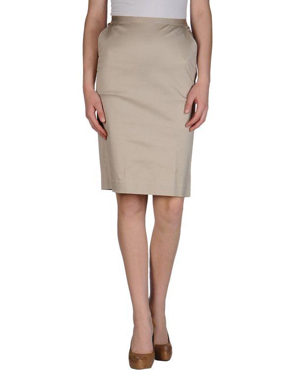米色 ASPESI 及膝半裙
