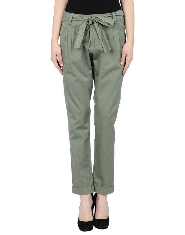 军绿色 HANITA 裤装