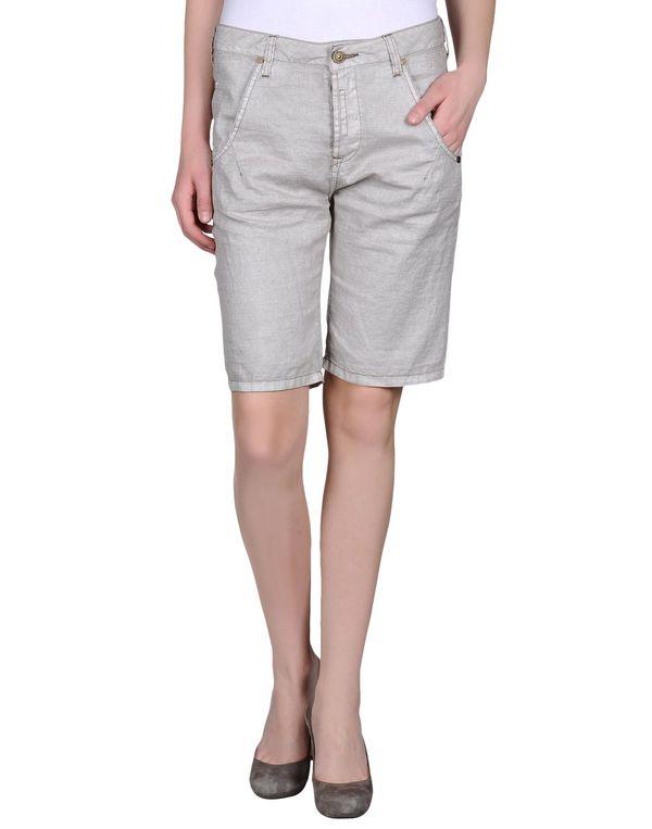 淡灰色 MANILA GRACE 百慕达短裤
