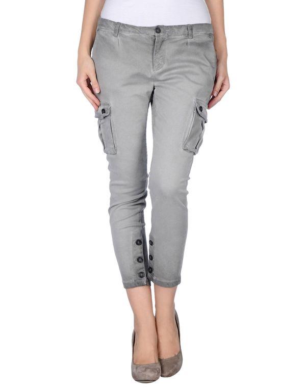灰色 TWIN-SET SIMONA BARBIERI 七分裤