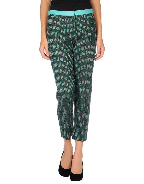 蓝绿色 TARA JARMON 裤装