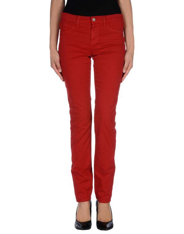 红色 J BRAND 裤装