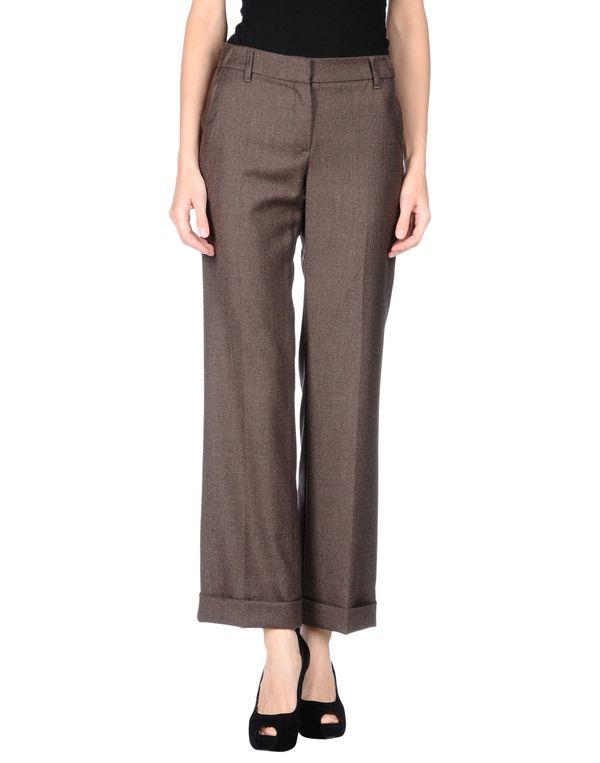 深棕色 BRUNELLO CUCINELLI 裤装