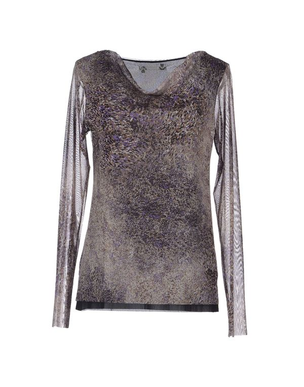 紫色 ALMERIA T-shirt