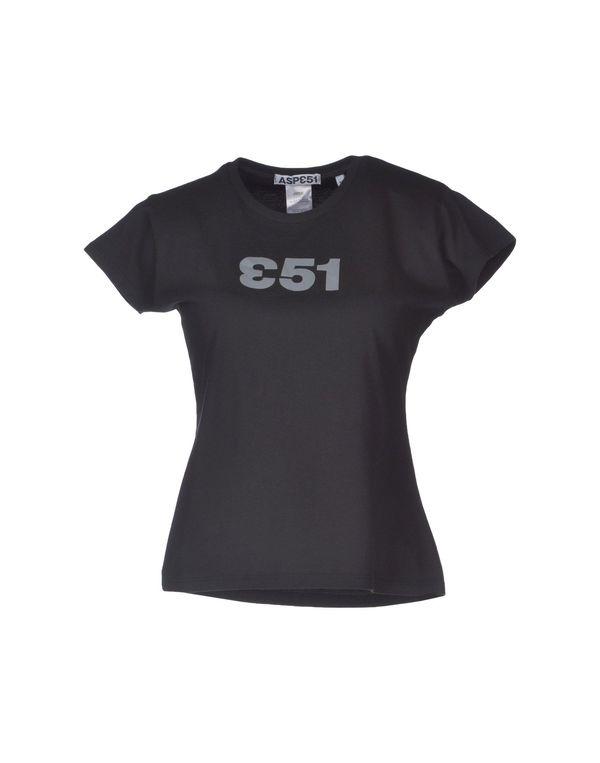 黑色 ASPESI T-shirt
