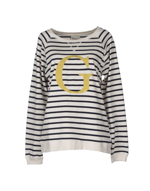 象牙白 GANNI T-shirt