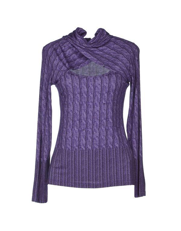 紫色 ROCCOBAROCCO T-shirt