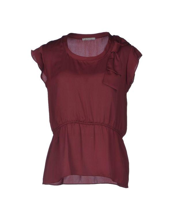 波尔多红 PINKO GREY 女士衬衫