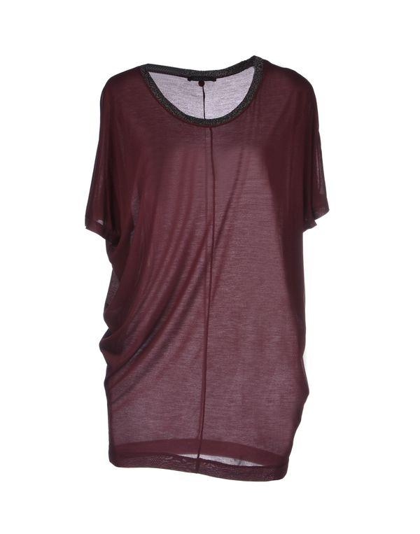 深紫 PINKO BLACK T-shirt