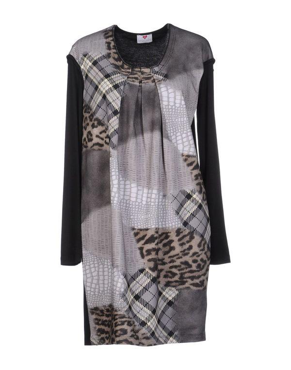 灰色 BRACCIALINI 短款连衣裙