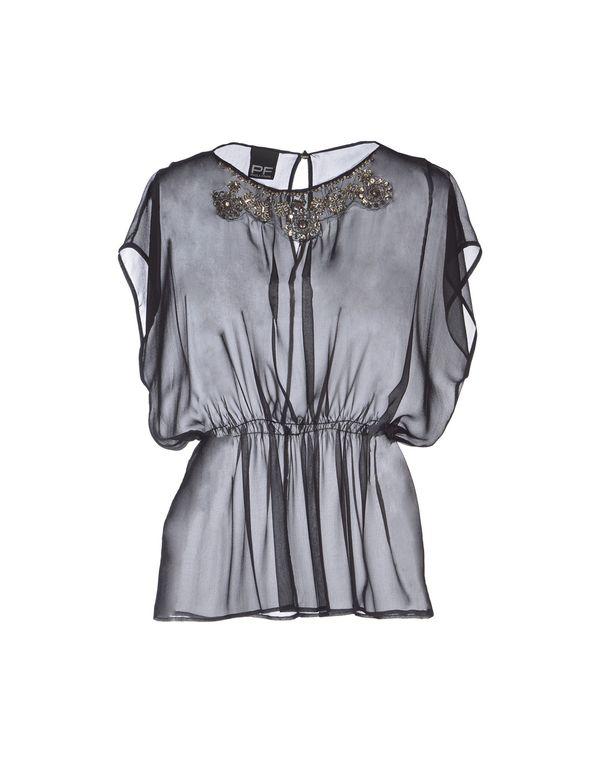 黑色 PF PAOLA FRANI 女士衬衫
