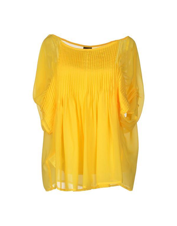 黄色 PF PAOLA FRANI 女士衬衫