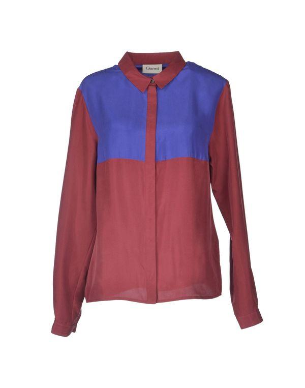砖红 GANNI Shirt