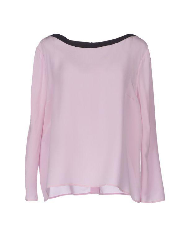 浅粉色 PRADA Shirt