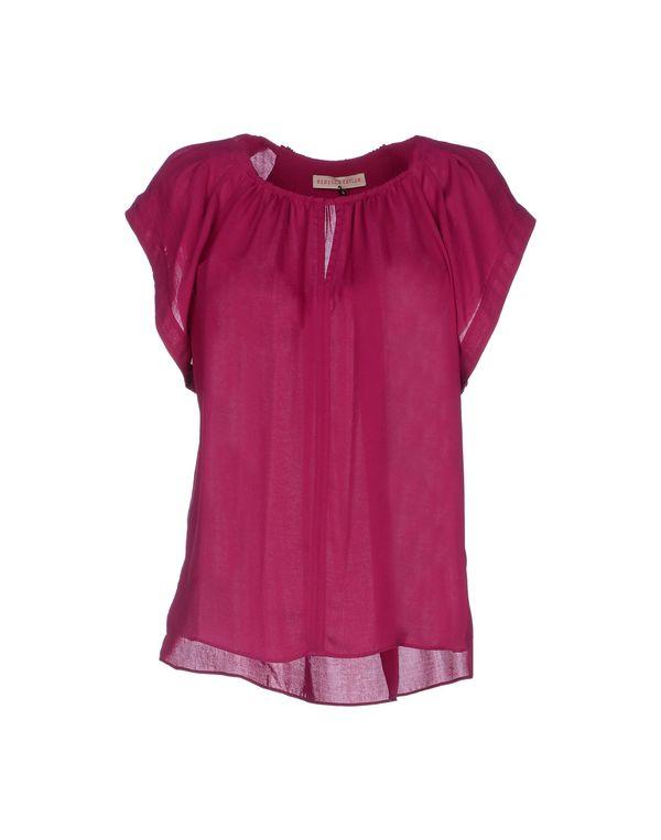 紫红 REBECCA TAYLOR 女士衬衫