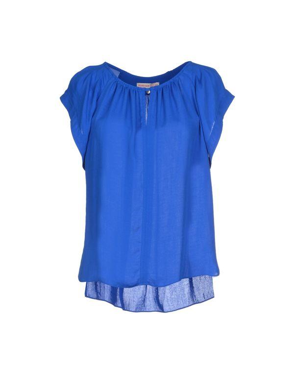 蓝色 REBECCA TAYLOR 女士衬衫