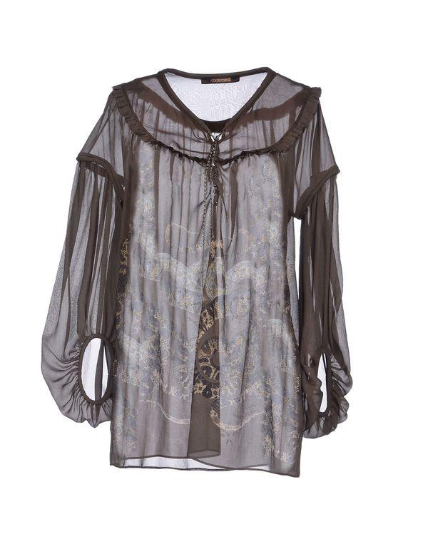 灰色 ROBERTO CAVALLI 女士衬衫