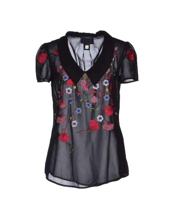 黑色 CLASS ROBERTO CAVALLI 女士衬衫