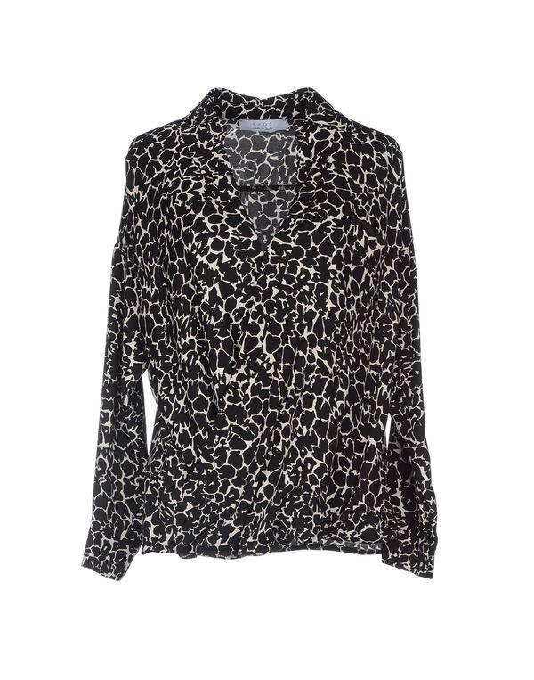黑色 KAOS 女士衬衫