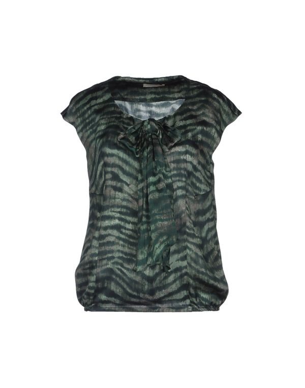 绿色 SCERVINO STREET 女士衬衫