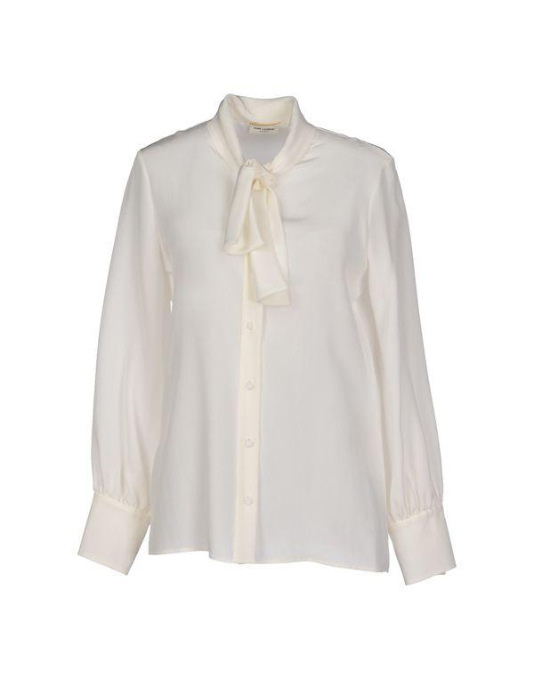 象牙白 SAINT LAURENT Shirt