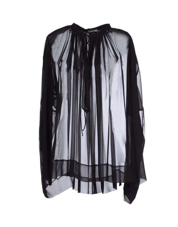 黑色 TOM FORD 女士衬衫