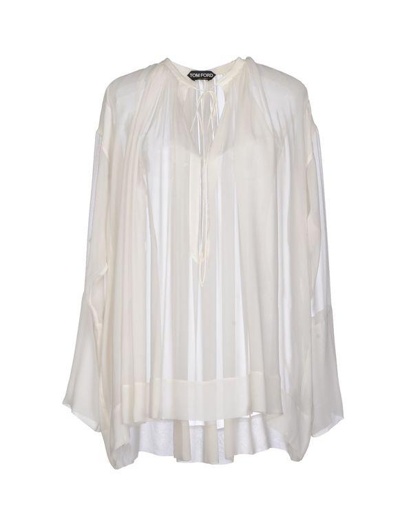 白色 TOM FORD 女士衬衫