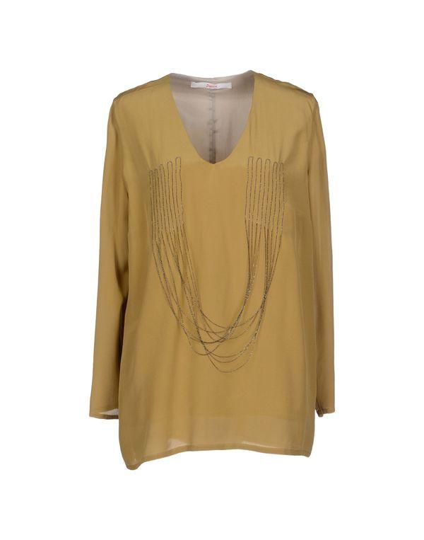 赭石色 JUCCA 女士衬衫