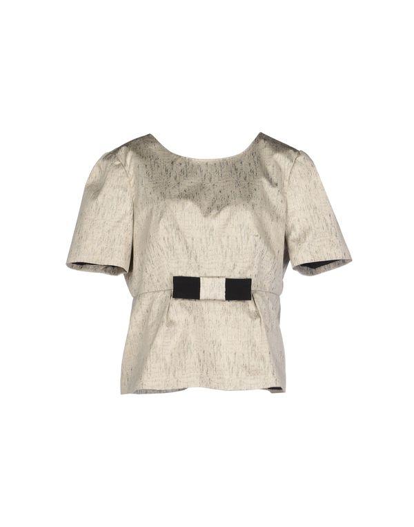 米色 TARA JARMON 女士衬衫