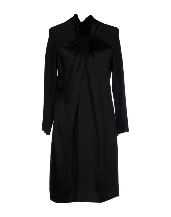 黑色 LOVE MOSCHINO 及膝连衣裙