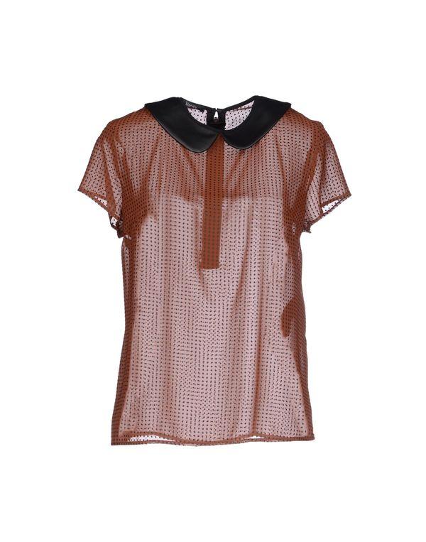 巧克力色 HANITA 女士衬衫