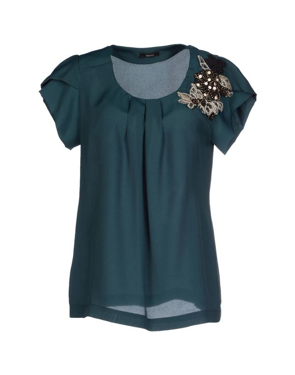 深绿色 HANITA 女士衬衫