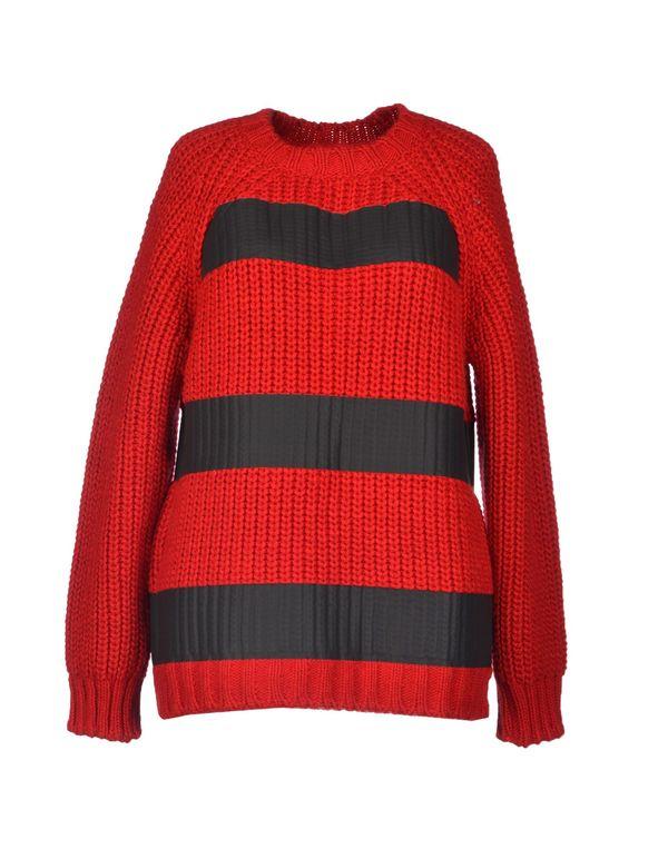 红色 MSGM 套衫