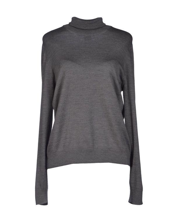 铅灰色 FAY 圆领针织衫