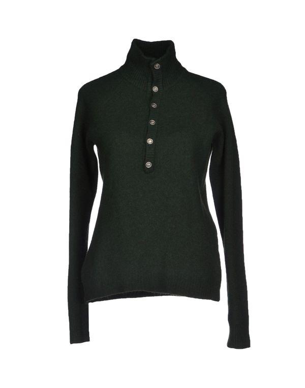 深绿色 D.A. DANIELE ALESSANDRINI 圆领针织衫
