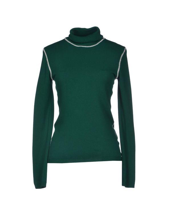 绿色 PIANURASTUDIO 圆领针织衫